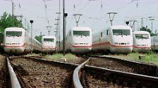 Mit dem Schnellzug durch Deutschland: Der ICE feiert 25. Geburtstag