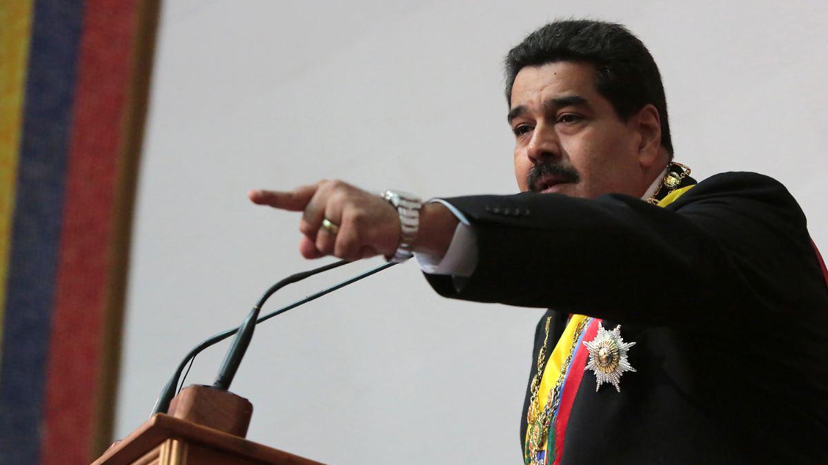 Maduro wirft USA Umsturzabsichten vor
