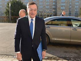 Mario Draghi ist vom Erfolg des EZB-Vorgehens überzeugt.