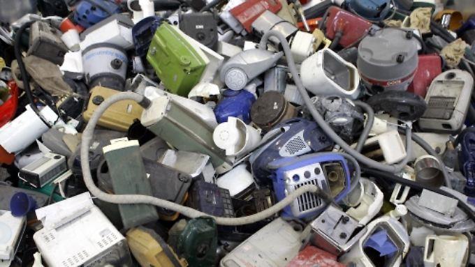Schrott per Briefumschlag?: Händler sollen ausgediente E-Geräte zurücknehmen