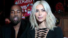 """""""Du bist so verdammt eng"""": Kanye West besingt seine sexy Kim"""