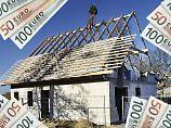 Häuslebauer sollten das bauausführende Unternehmen fragen, ob dieses eine sogenannte Baufertigstellungsversicherung hat.