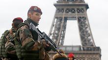 Neue Audiobotschaft: IS will Eiffelturm sprengen
