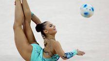 Bei den Olympischen Sommerspielen 2000 in Sydney holte sie Bronze, ...
