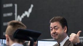 EZB flutet Märkte mit billigem Geld: Für Dax geht es nur noch aufwärts