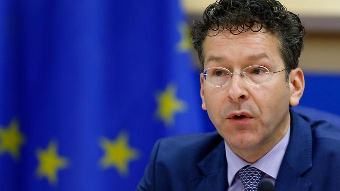 """""""Denken Sie an Zypern"""" - Eurogruppenchef Dijsselbloem bringt einen neuen Vorschlag in Grexit-Debatte."""