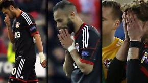 Viertelfinale verpasst: Bayer Leverkusen verschießt gleich dreimal