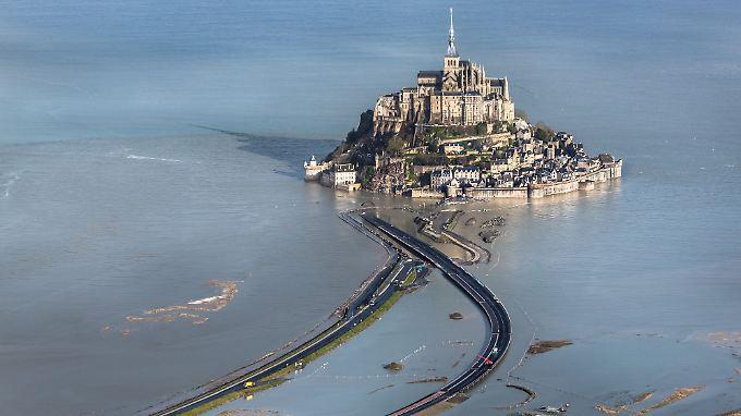 Für den Fall von Überflutung fanden im Vorfeld Katastrophenübungen statt.