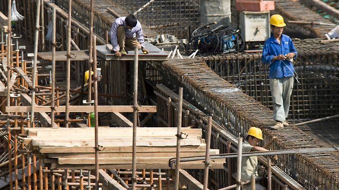 """Die """"Asiatische Infrastruktur Entwicklungsbank"""" soll Bauprojekte in Asien und der Pazifikregion stützen."""