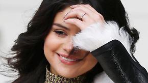"""Promi-News des Tages: Selena Gomez schwärmt von """"süßem Deutschen"""""""