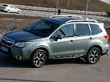 Erstmals bietet Subaru die Diesel-Version des Foresters mit Lineartronic an.
