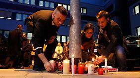 Die Trauer bei den Germanwings-Mitarbeitern ist groß.