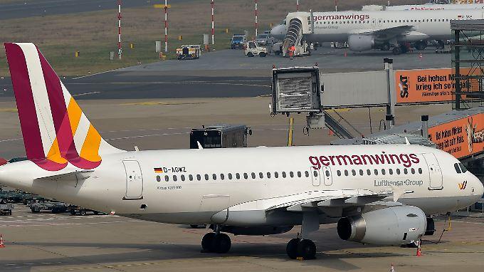 Auf dem Düsseldorfer Flughafen