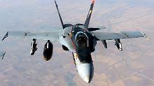 Luftangriffe auf Tikrit: USA helfen irakisch-iranischen Truppen
