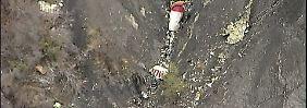 Die Germanwings-Maschine wurde wohl absichtlich in die Berge gesteuert.
