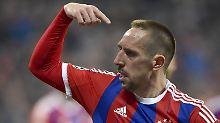 Fußball kann er ja: Franck Ribéry.
