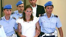 """""""Meredith war meine Freundin"""": Richter sprechen Amanda Knox frei"""