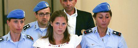 """Der """"Engel mit den Eisaugen"""": Richter sprechen Amanda Knox frei"""