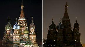 """Weltweite Klimaschutzaktion: Millionen Menschen schalten zur """"Earth Hour"""" das Licht aus"""