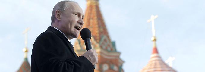 Die Regierung von Wladimir Putin überlässt kaum etwas dem Zufall, erst recht nicht die Deutungshoheit über die eigene Politik.