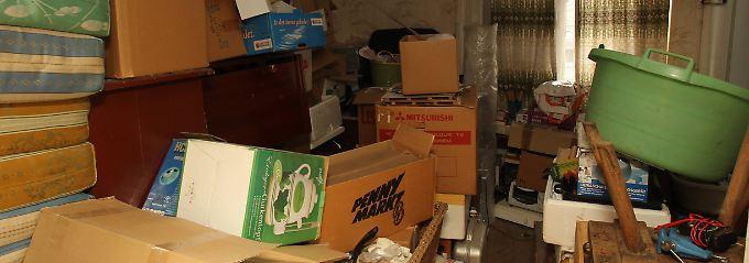 Vielleicht sah es in der Wohnung ähnlich aus wie auf diesem Bild.