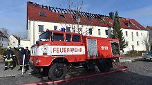 Brand in Tröglitzer Flüchtlingsheim: Feuer wurde vorsätzlich gelegt