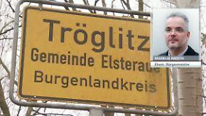 """Ex-Bürgermeister von Tröglitz: Feuer in Flüchtlingsheim ist """"eine Schande für unseren Ort"""""""