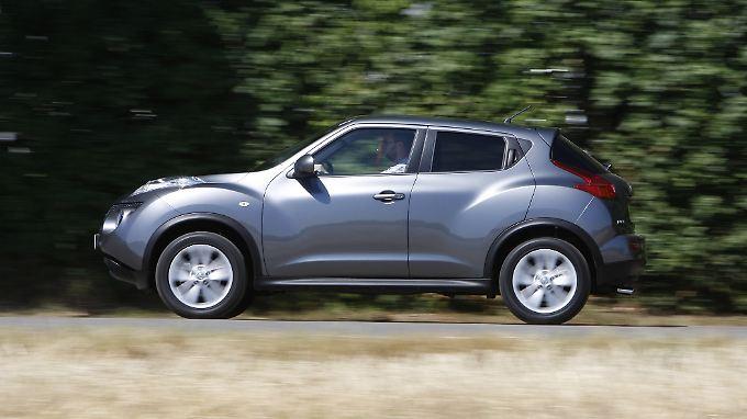 Die Optik des Nissan Juke ist nicht jedemanns Sache. Bei der ersten HU glänzt der Japaner aber.