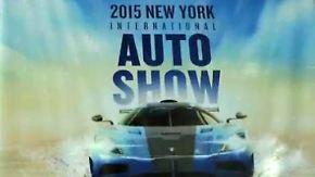 Messerundgang auf der NYIAS: Autohersteller präsentieren ihre Neuheiten in New York