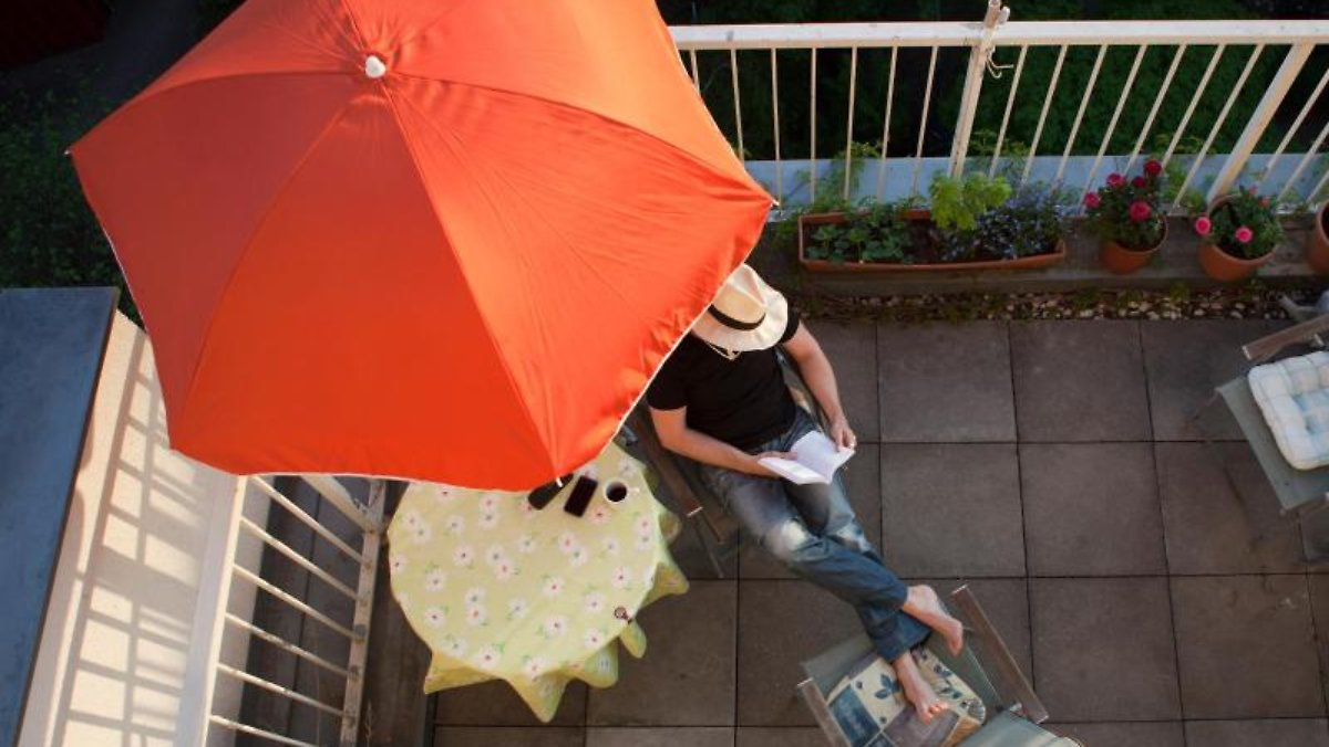 bepflanzung, grillen, nutzung: was mieter auf dem balkon dürfen, Gartengerate ideen