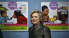 Hillary Clinton hat ihren Hut bereits in den Ring geworfen. Die 67-Jährige will für die Demokraten bei der Wahl antreten.
