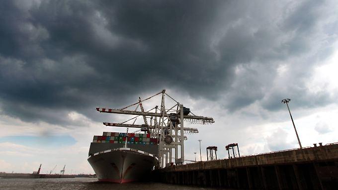 Dämpfer vom IWF: Die Eurozone muss sich 2016 mit einem geringen Wachstum zufrieden geben.