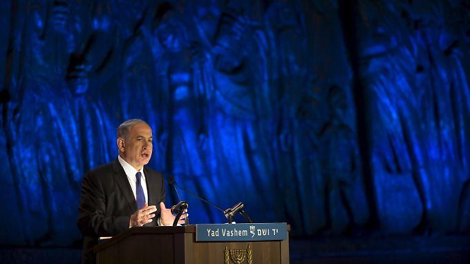 Warnt eindringlich vor einem nuklear bewaffneten Iran: Benjamin Netanjahu.