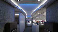 Messe für Kabinenausstatter: So soll die Zukunft der Flugreise aussehen