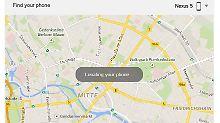Suchmaschine ruft auch an: Google findet verschwundene Smartphones