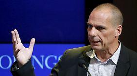 """""""Wir lassen uns nicht bloßstellen"""": Schäuble und Varoufakis liefern sich Fernduell"""