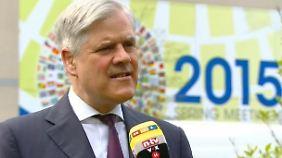 """Andreas Dombret im n-tv Interview: """"Lage der deutschen Banken ist grundsätzlich gut"""""""