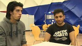 """Bei Minusgraden zu Fuß nach Berlin: Zwei Syrer machen sich auf den """"Trip des Todes"""""""