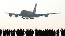 """Der Riesenjet, der """"zu früh kam"""": Airbus gibt den A380 auf"""