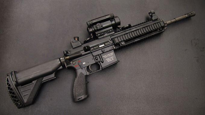Das HK416 wird in Deutschland bislang nur von Spezialkräften eingesetzt.