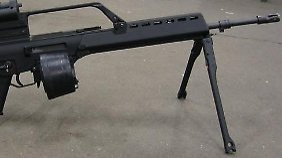 Das MG36 wurde ursprünglich für die Bundeswehr entwickelt.