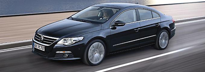 Besonders als Dienstwagen beliebt: der VW Passat CC.