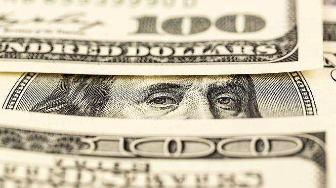 Benjamin Franklin auf der 100-Dolllar-Note