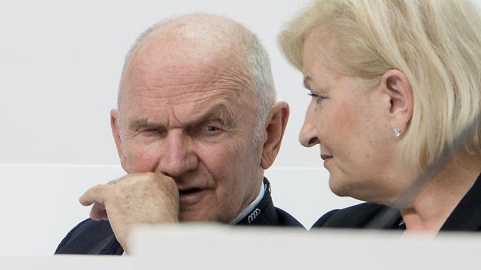 Ferdinand Piëch und seine Ehefrau Ursula.