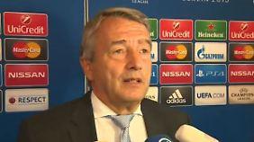 Kein Blatter-Freund: DFB-Präsident Niersbach.