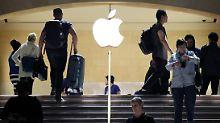 Mehr als nur eine Nasenlänge: Apple übertrifft alle US-Konzerne