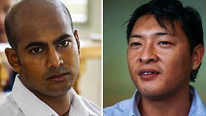 Die Australier Myuran Sukumaran (l.) und Andrew Chan (r.)