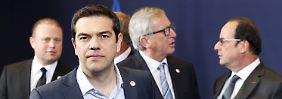 Geldgeber beklagen Rückschritte: Tsipras verlangt Lob von der Euro-Gruppe