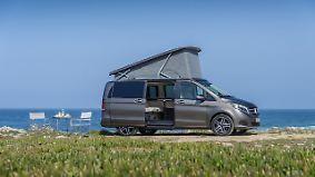 California-Konkurrenz: Marco Polo: Fahren und schlafen im neuen Camper von Mercedes