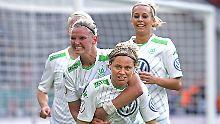 Klarer Triumph gegen Potsdam: VfL Wolfsburg krönt sich zur Pokalsiegerin